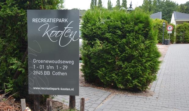 <p>Entree recreatiepark, heet nu Den Deel</p>