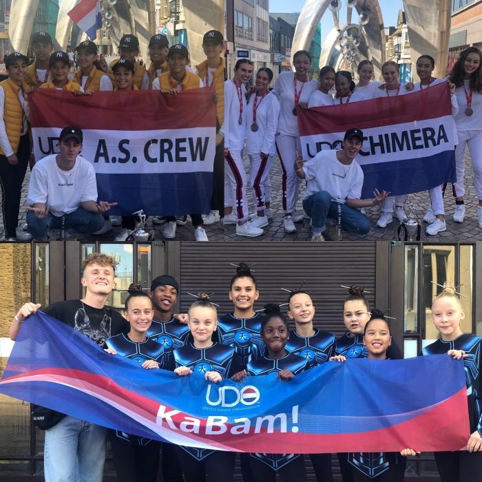 v.l.n.r.: teams A.S. Crew, Chimera & KaBam! R. van der Veld © BDU media
