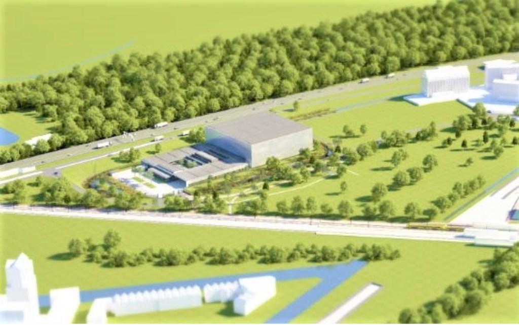 Ontwerp van het toekomstige Collectie Centrum Nederland in Vathorst. Gemeente Amersfoort  © BDU media