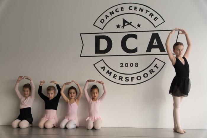 Ballerina's van DCA