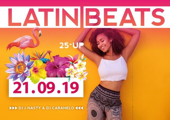 Latin Beats 25-up danceparty