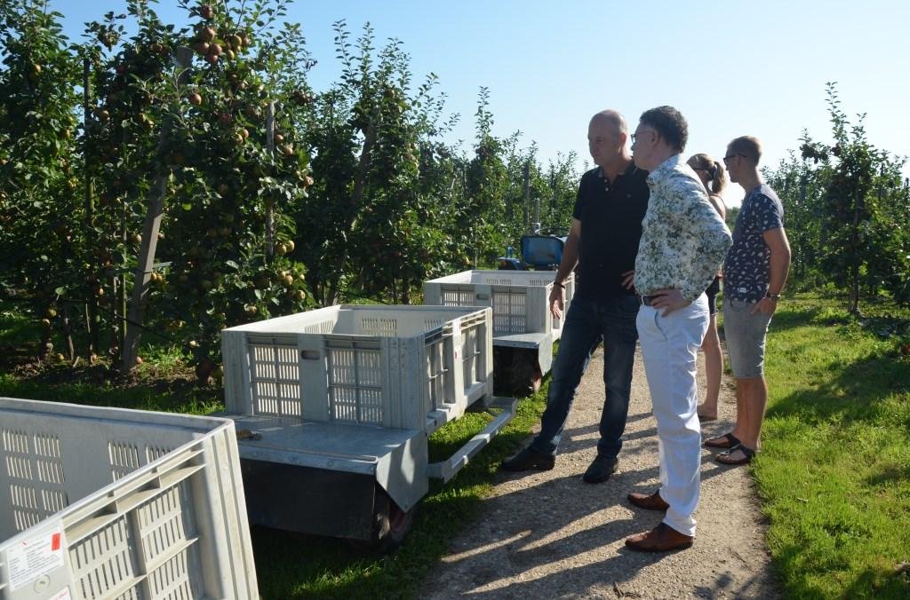Uitleg over de appels  Ali van Vemde © BDU media