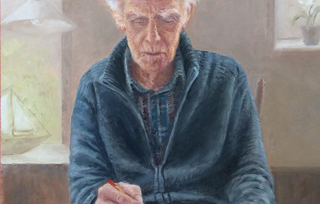 Fragment van het portret 'De tekenaar'. Willeke Frima © BDU media