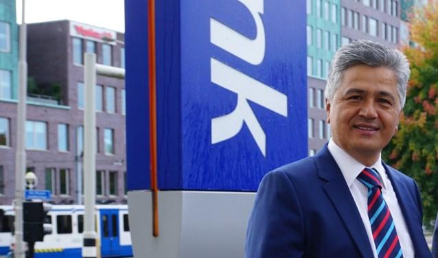 Directievoorzitter Ugur Pekdemir van Rabobank Amstel en Vecht.