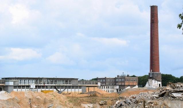 Beeld van het Enka-terrein in 2009.