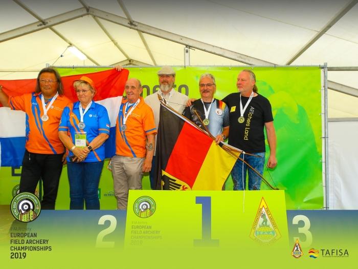 Medaille uitreiking Teams Pridex Media © BDU media