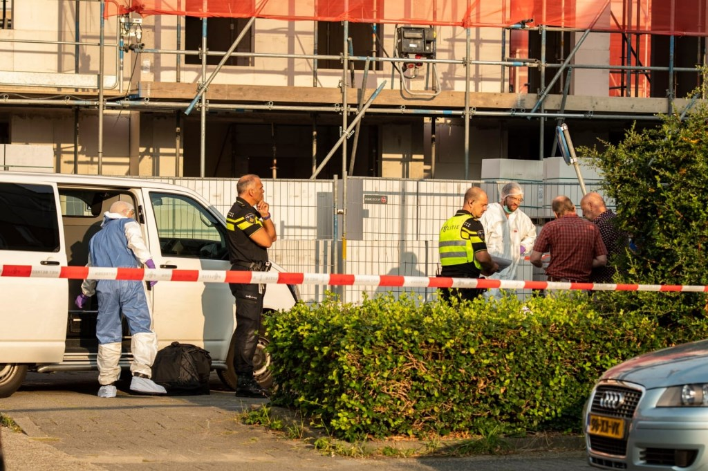 De politie doet onderzoek Koen Laureij © BDU media