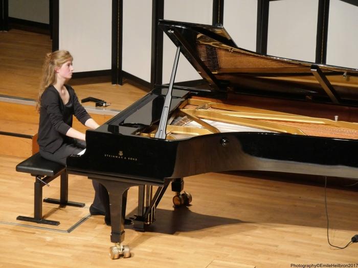 Noëmi Schermann studeert piano in Utrecht Observant © BDU media