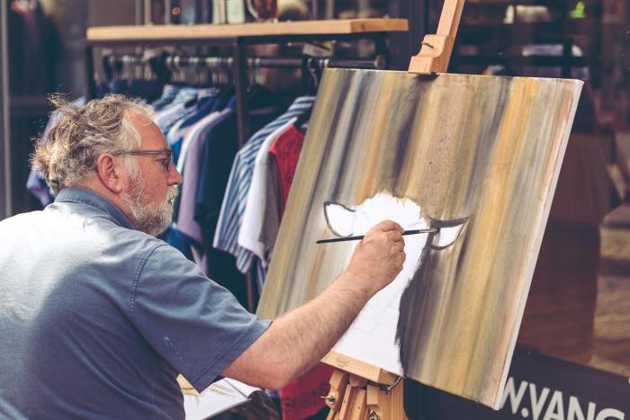 Kunstenaars tijdens KIEK es Putten E. Rudolfs Fotografie © BDU media