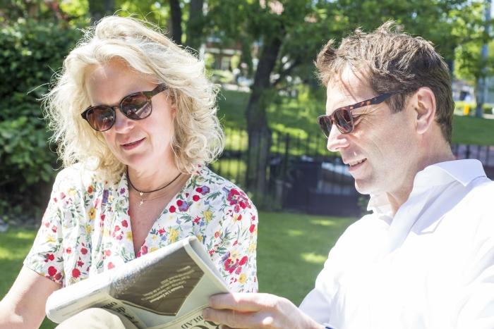 Model met Kate and Neil Marielle Penrhyn Lowe © BDU media
