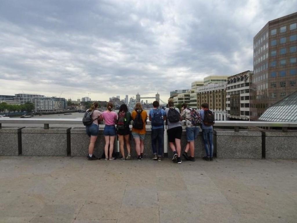 De explo's van scouting A15 gingen op kamp in Londen. K. Ouburg © BDU media