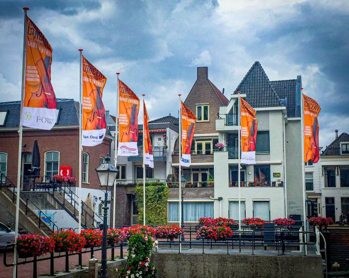 Vlag in top voor Lingehavenconcert