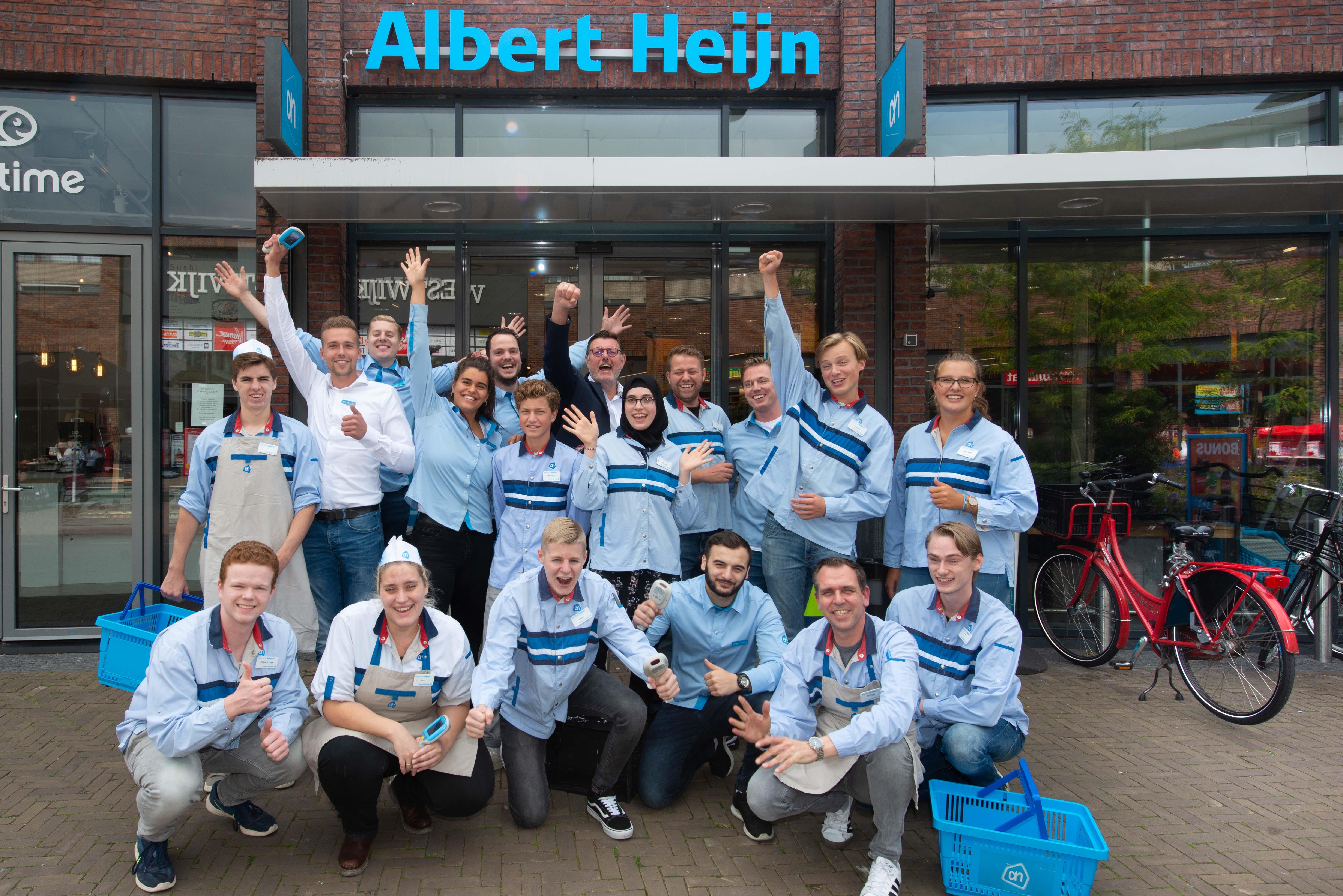Straks boodschappen doen met zelfscan bij Albert Heijn Westwijk