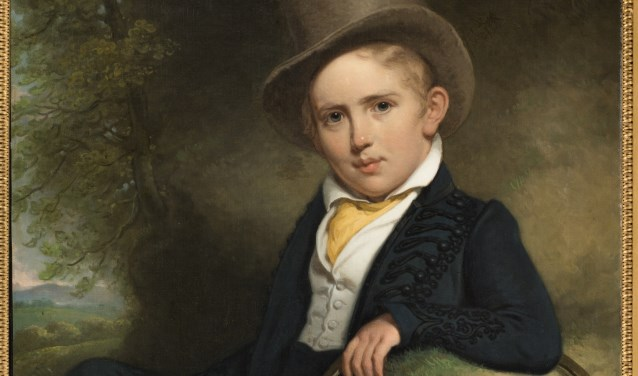 Charles Howard Hodges (1764-1837), A.J.B. Wattendorff op vijfjarige leeftijd, 1832.