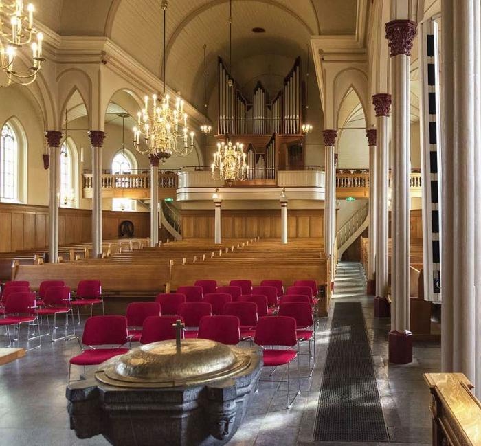 het orgel in de Pauluskerk Johan Bosgra © BDU media