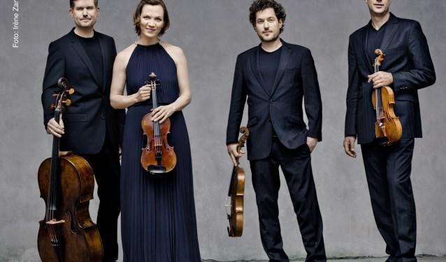 Het Signum Quartett speelt Schuberts strijkkwartet 'Der Tod und das Mädchen' komend seizoen in de Edesche Concertzaal.