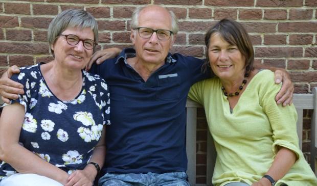 Gerrie Pels, Jos Overdevest en Karin Boers