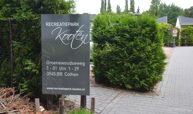 Geen vaste bewoning meer op Recreatiepark Kooten