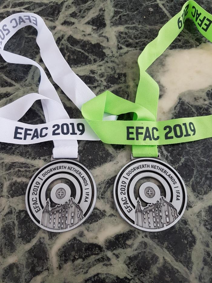 De Europese medailles van Ernie Breuer Ernie Breuer © BDU media