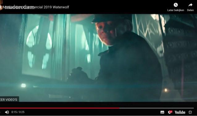 Een beeld uit de commercial.