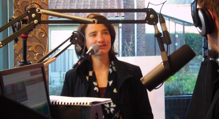 Marianne Vos bij Radio A-FM