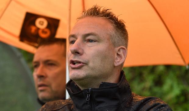 <p>Trainer Albert van Nijhuis</p>