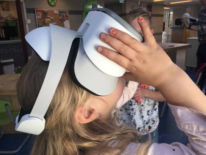 Kijkje in de ruimte met VR