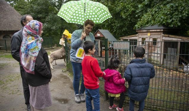 Met Caroline Heemskerk op speurtocht in kinderboerderij 't Molentje