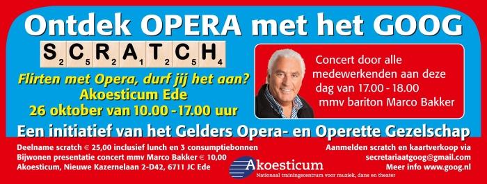 Opera met het GOOG