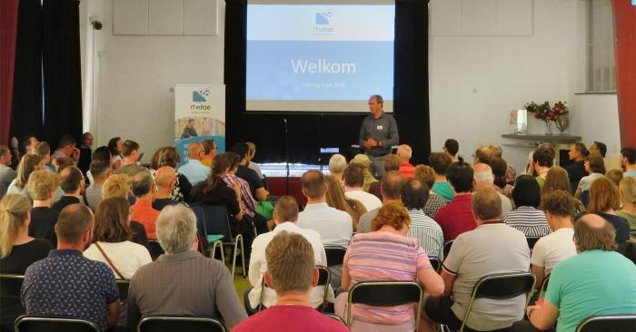Infodag ICT-opleiding voor jongeren met autisme in het voormalige Eemklooster in Amersfoort