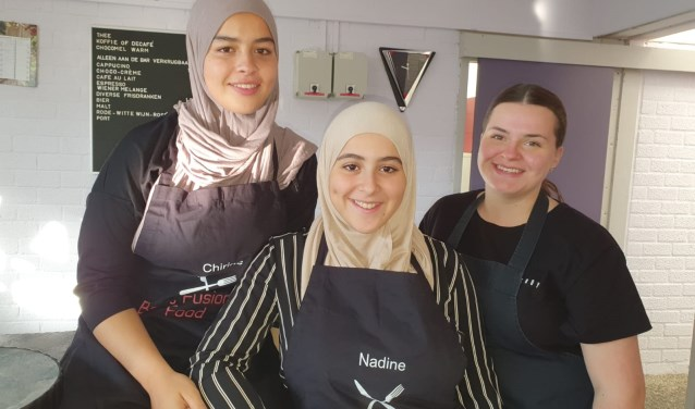 Met hun cateringbedrijf Behind Fusion Mind willen de ondernemers culturen bij elkaar brengen.