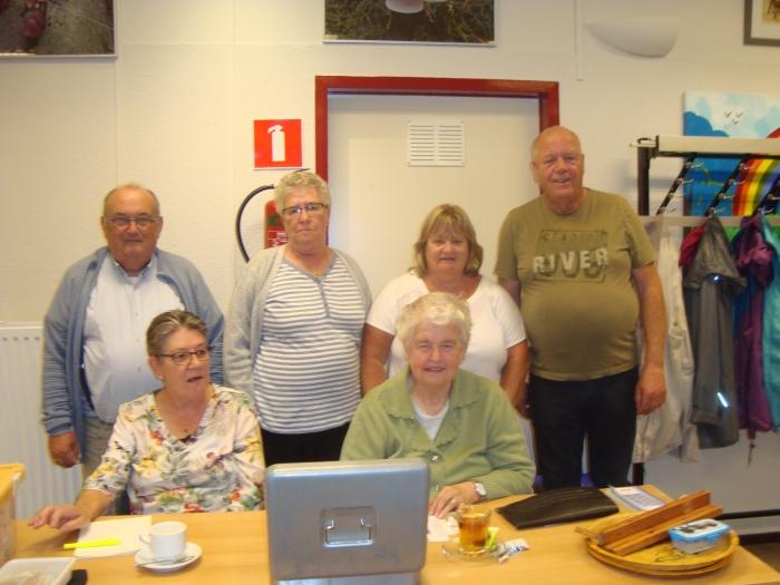 Organisatieteam: Dora van den Brink, Hilde Schellart, Jim van Batenburg, Pietje Jansen, Anja Oudt, Jerry van den Berg.,