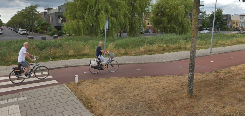 Een stel fietst op de Deltaweg. google © BDU media