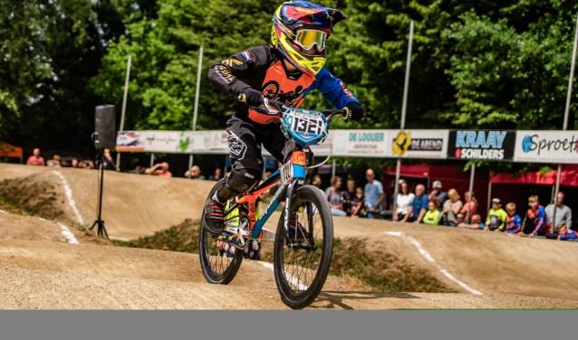 Rudi Vaarkamp werd in Nijkerk zesde in de klasse jongens 9/meisjes 10.