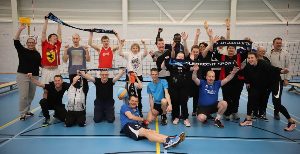 Uniek Volley bij Sliedrecht Sport.
