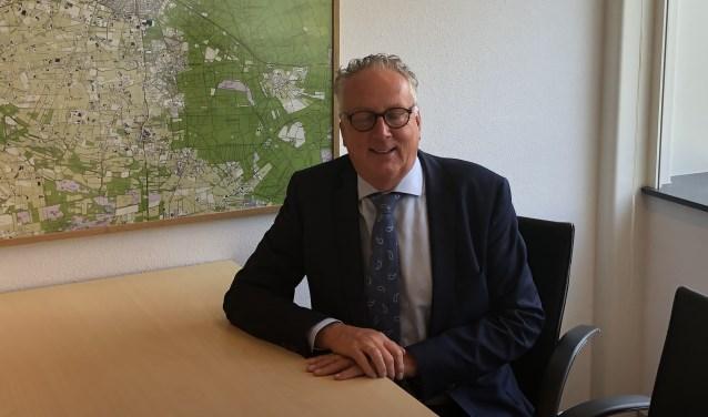Wethouder Gerbert Priem hoort graag hoe inwoners van Putten aankijken tegen maatregelen die genomen moeten worden.