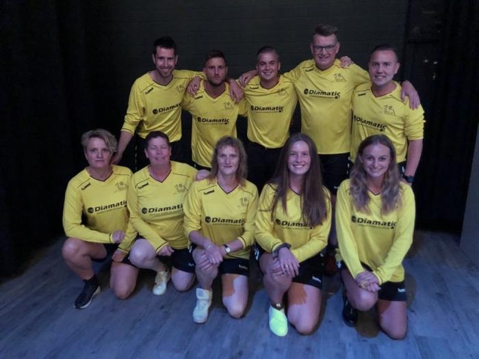 De deelnemers van SV Odijk.