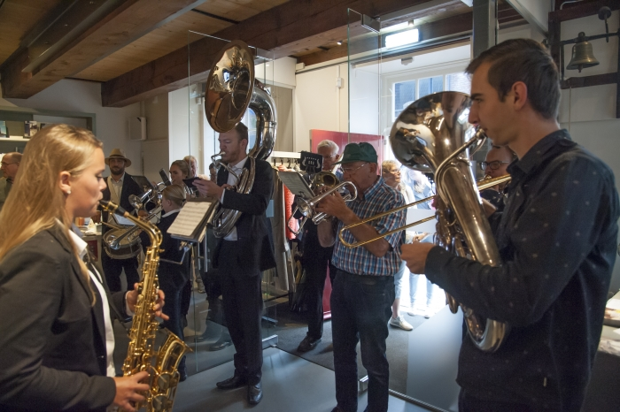 NSFC speelt bij Museum Nijkerk tijdens de Open Monumentendag
