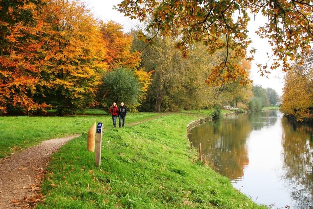 Wandelen in het Kromme Rijngebied Routebureau Utrecht © BDU media