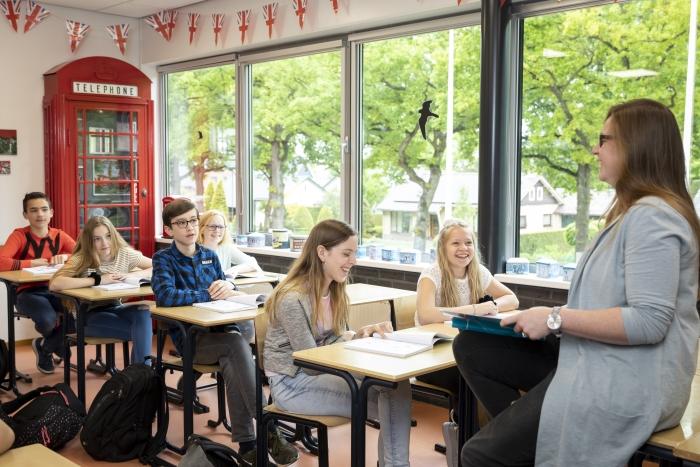 Engelse les op het Altena College