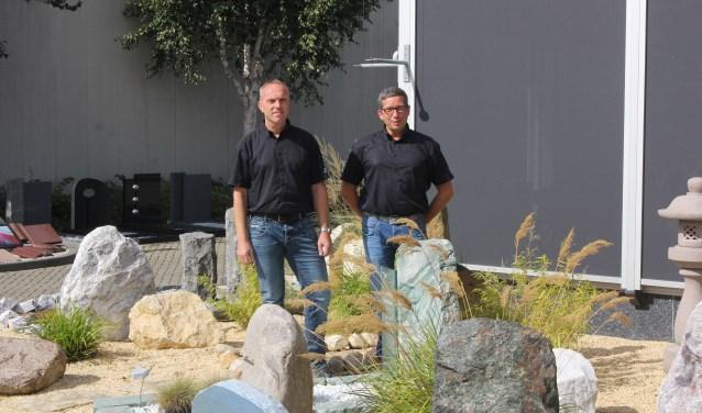 """Den Sprengers (links) en Jaco Vuijk:  """"Wat wij doen is vrij uniek, er zijn niet veel bedrijven, die dit doen."""""""