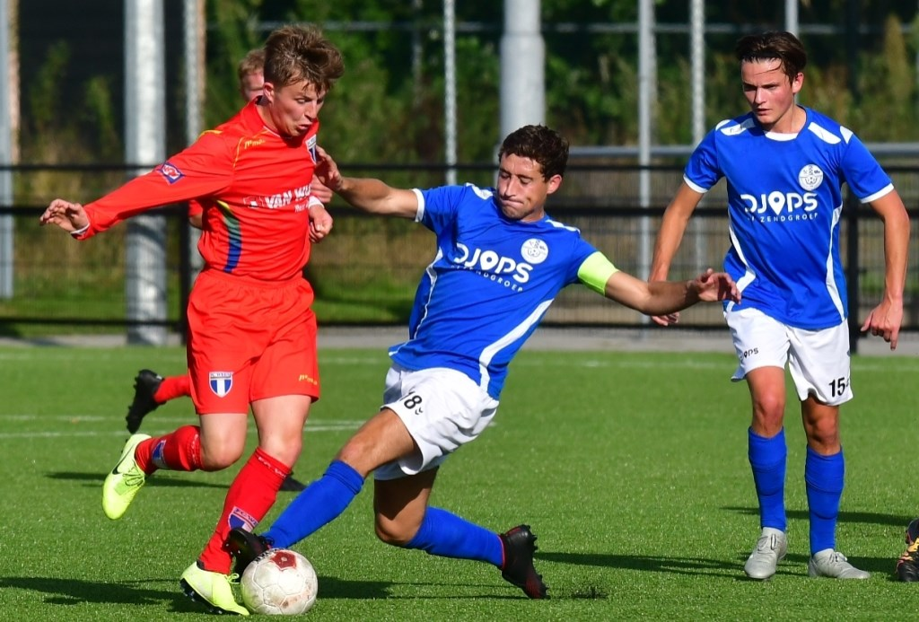 De strijd en het spel van Veensche Boys was goed tegen FC Weesp