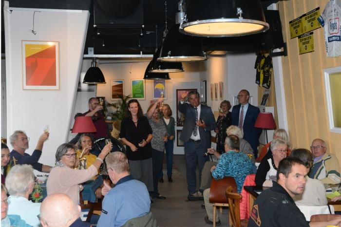 Aftrap Gouden Soeplepel 2020 met Burgemeester Naafs en Wethouder Boonzaaijer bij Heel Amerongen Soept