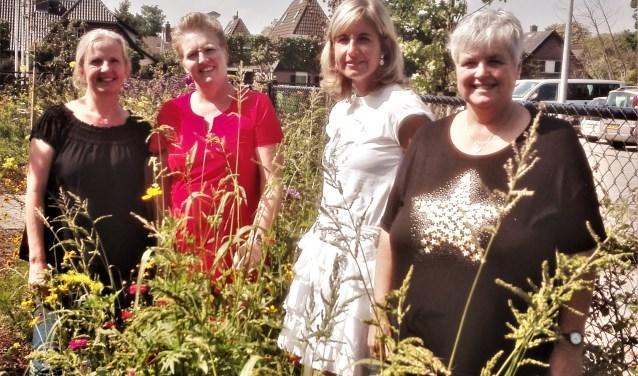 V.l.n.r. Petra de Booij, Janet de Oude Mooi, Anita den Hartog en Yvonne van den Nieuwenhuijzen.