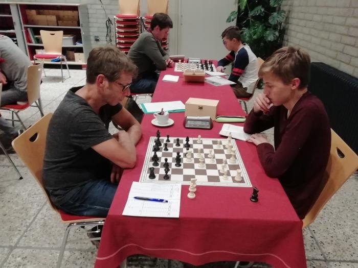 Thijs Postma (rechts)