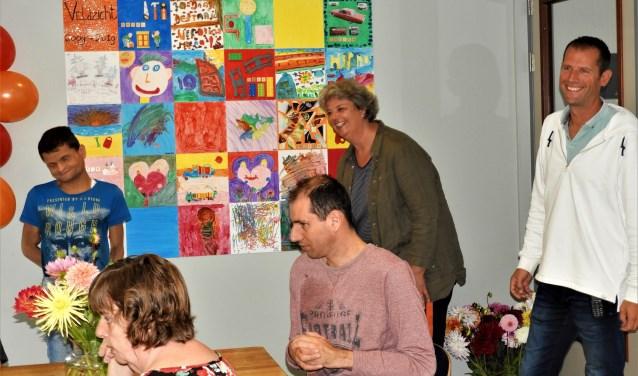 Achter Rico Ruigrok, Davina Prins en Niels Groot.