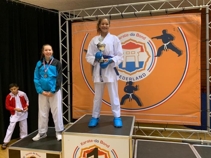 Nessa zilver op de Dutch Open K.Nobbe © BDU Media