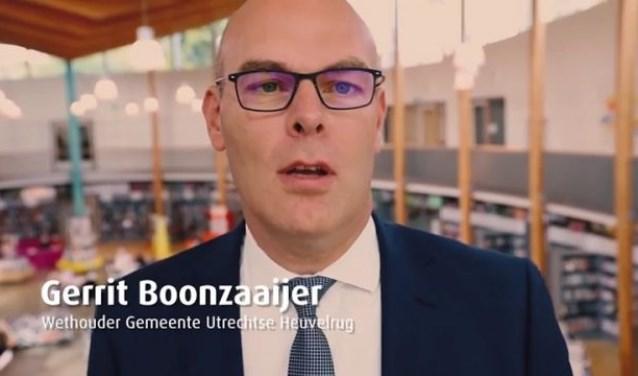Wethouder Gerrit Boonzaaijer