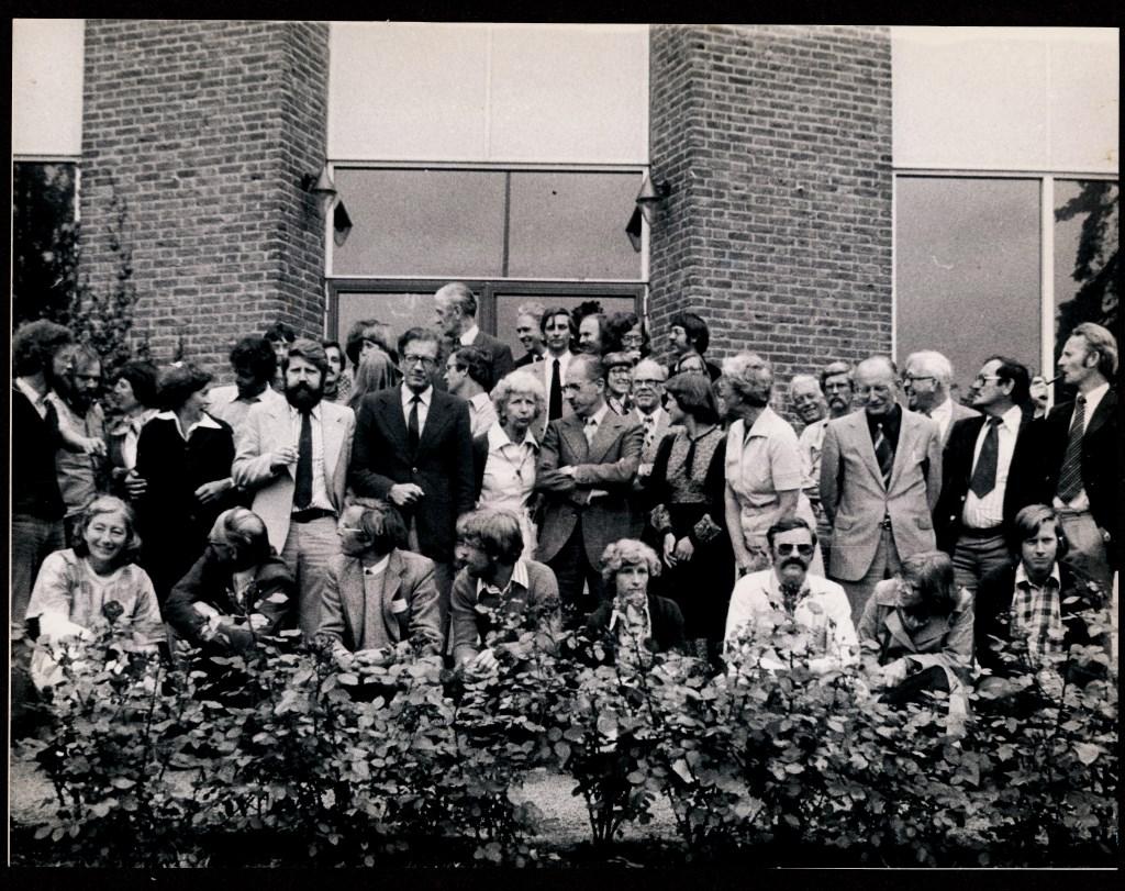 Het docententeam eind jaren '70. Atrium © BDU media