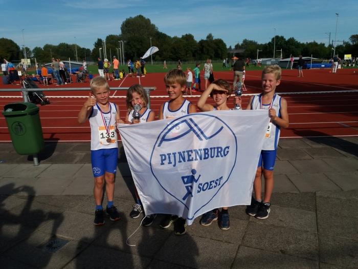 De winnaars van AV Pijnenburg